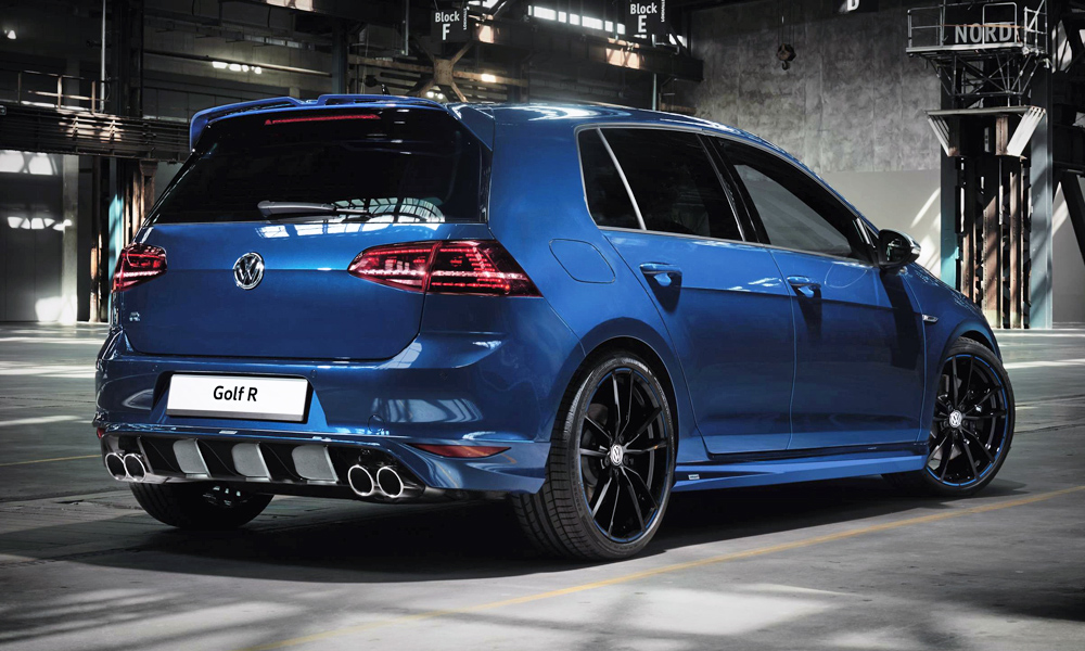 Vw Golf Gti Golf R Try On New Oettinger Body Kits Car