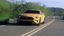 2018 Ford Mustang facelift leaked