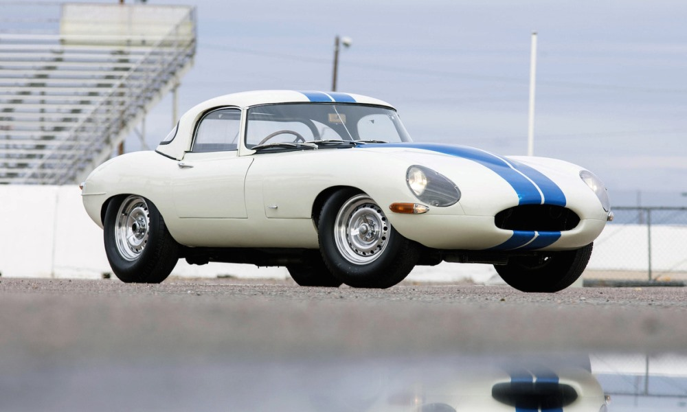 Limited edition Jaguar E-Type sells for record amount