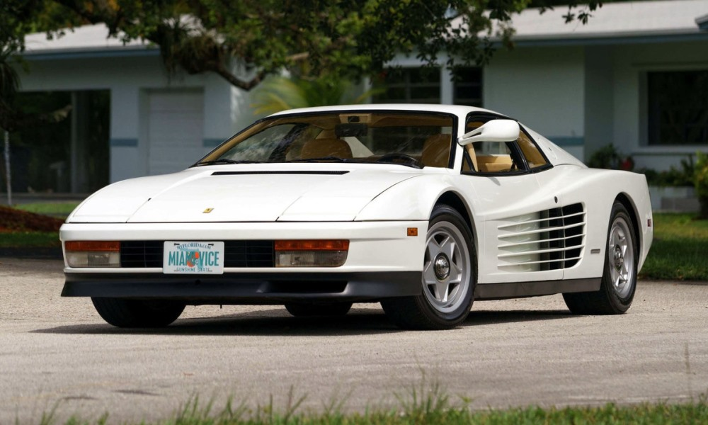Miami Vice Ferrari Testarossa goes up for sale