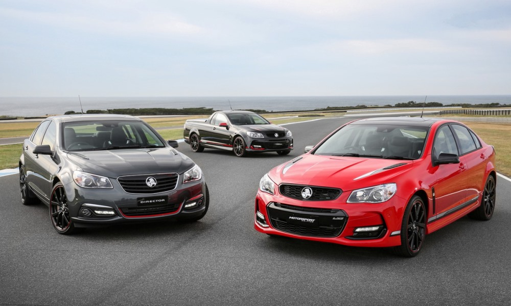 Holden special editions bid farewell to the Commodore