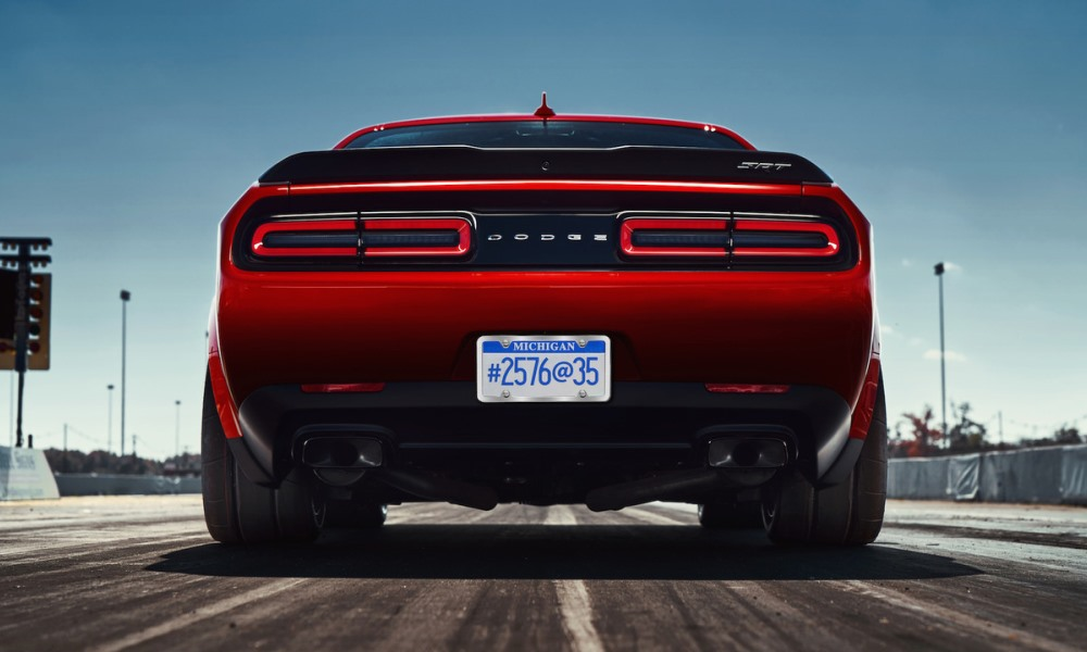 Dodge teases drag-strip focused Challenger Demon