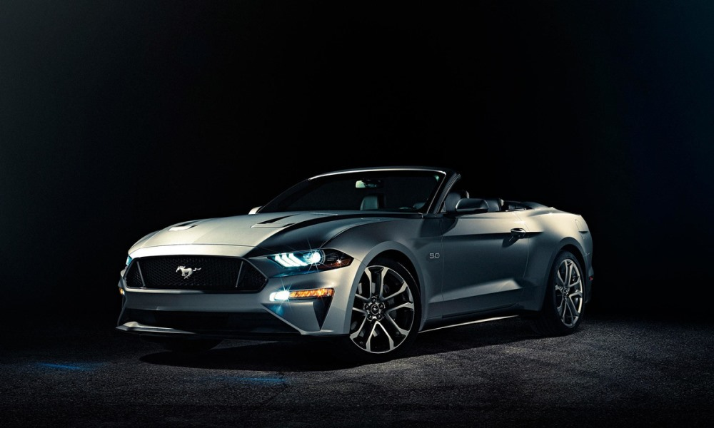Have a look at the 2018 Ford Mustang Convertible