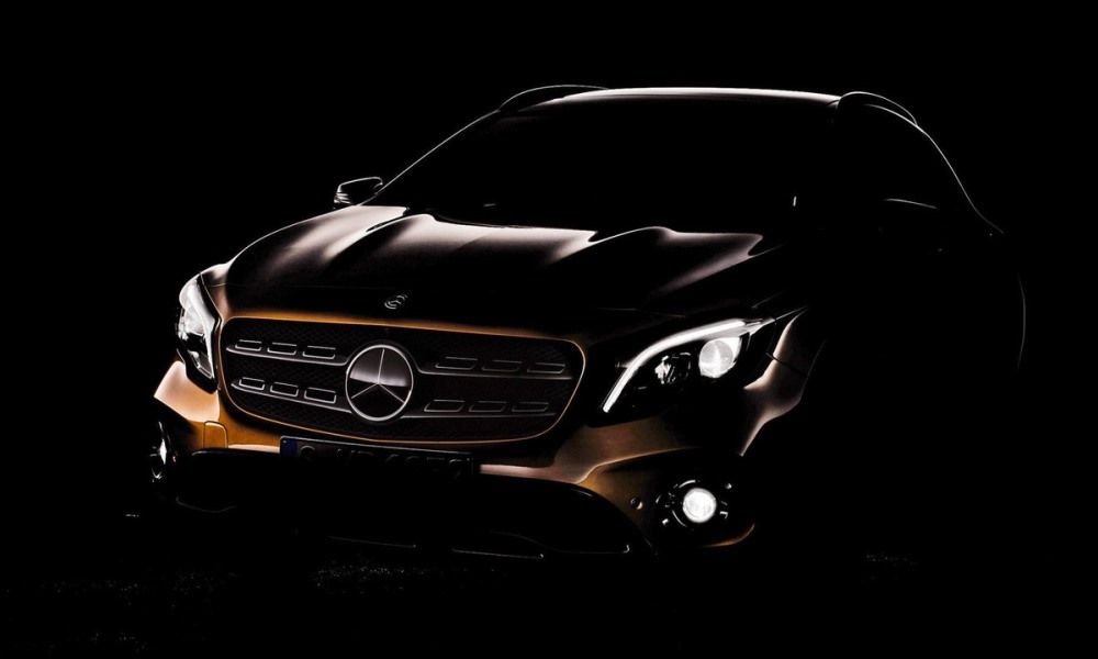 Mercedes-Benz teases 2018 GLA facelift