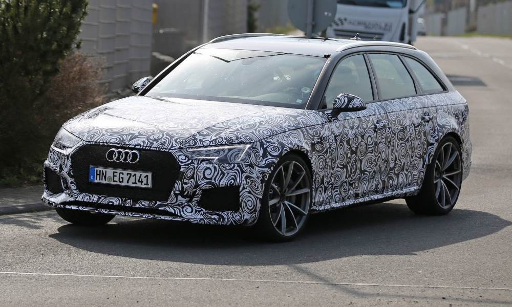 Audi RS4 performance figures possibly leaked