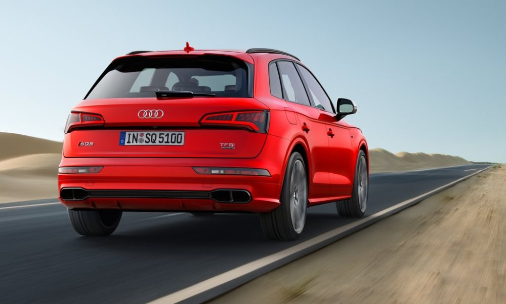 The SQ5 makes use of the 3,0-litre V6 found in other S models.
