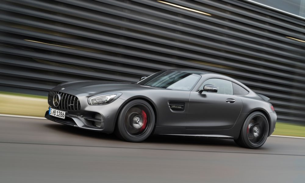 Mercedes-AMG reveals coupe variant of the GT C