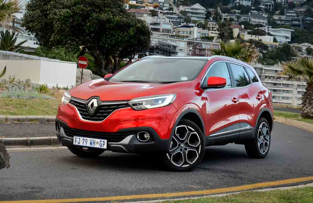 The Kadjar offers a generous amount of luggage space.