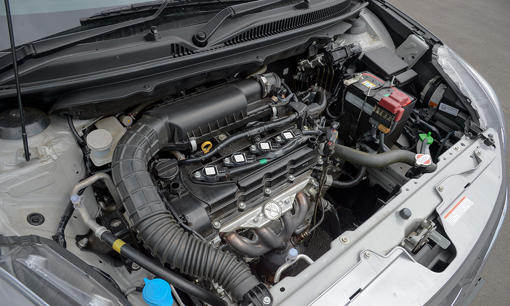 Naturally aspirated 1,4-litre engine is shared with a number of other Suzuki products.