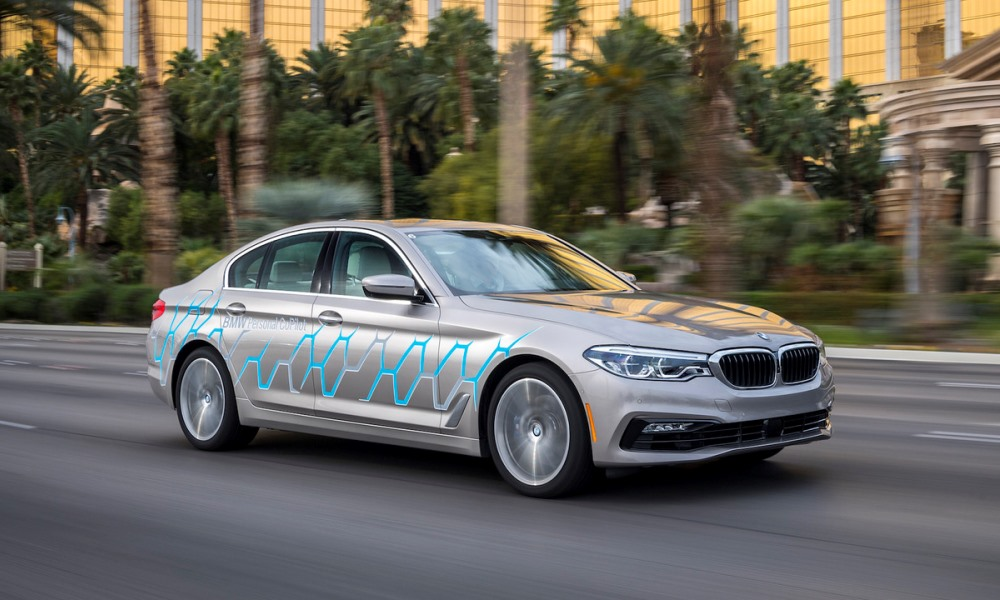 BMW autonomous Personal CoPilot detailed