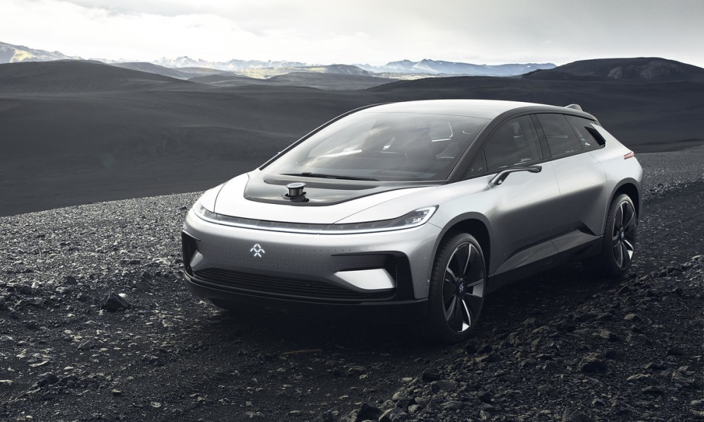 Faraday Future FF 91 revealed with 783 kW