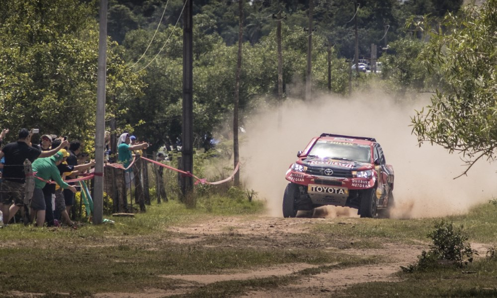 Toyota Gazoo wins opening stage of Dakar