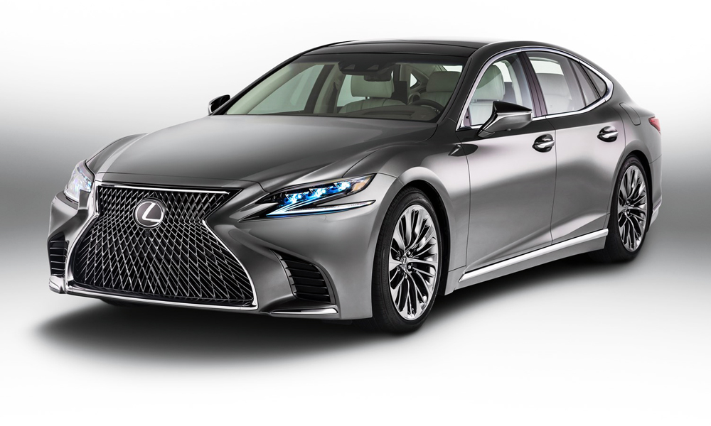 The fifth-generation Lexus LS is set to arrive in SA in early 2018.