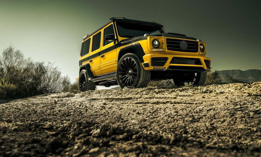 Mansory creates crazy kit for Mercedes-Benz G-Glass