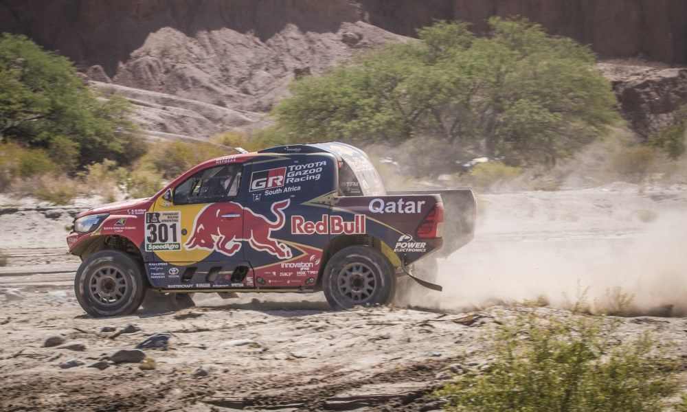 """Game over"" for Al-Attiyah after Dakar stage 3 mishap"