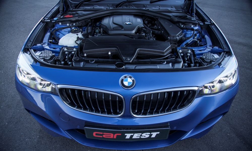New 2,0-litre engine is noisy but punchy.