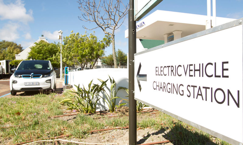 BMW Vehicle charging station Constantia