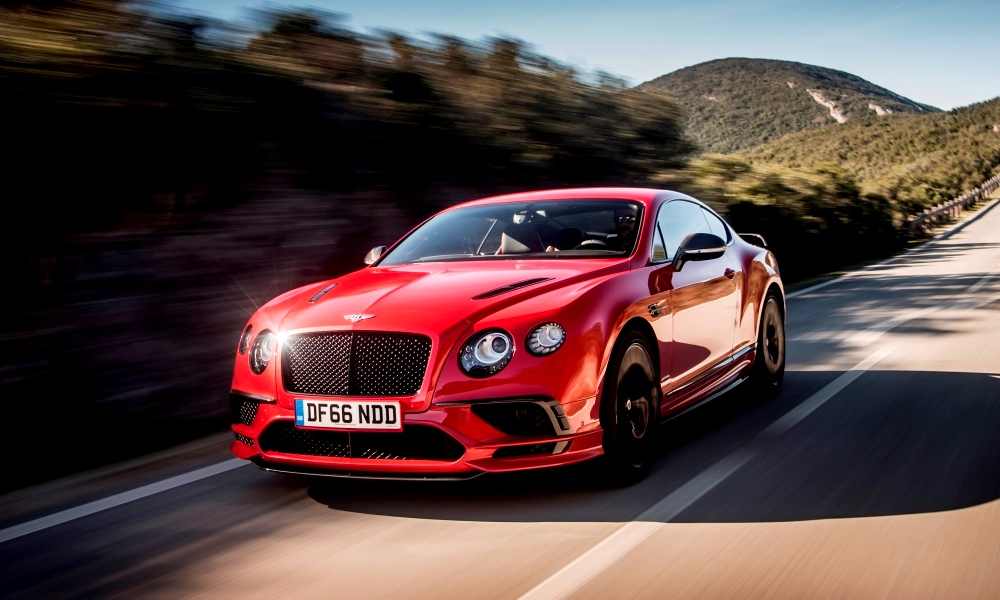 Bentley supersport cost