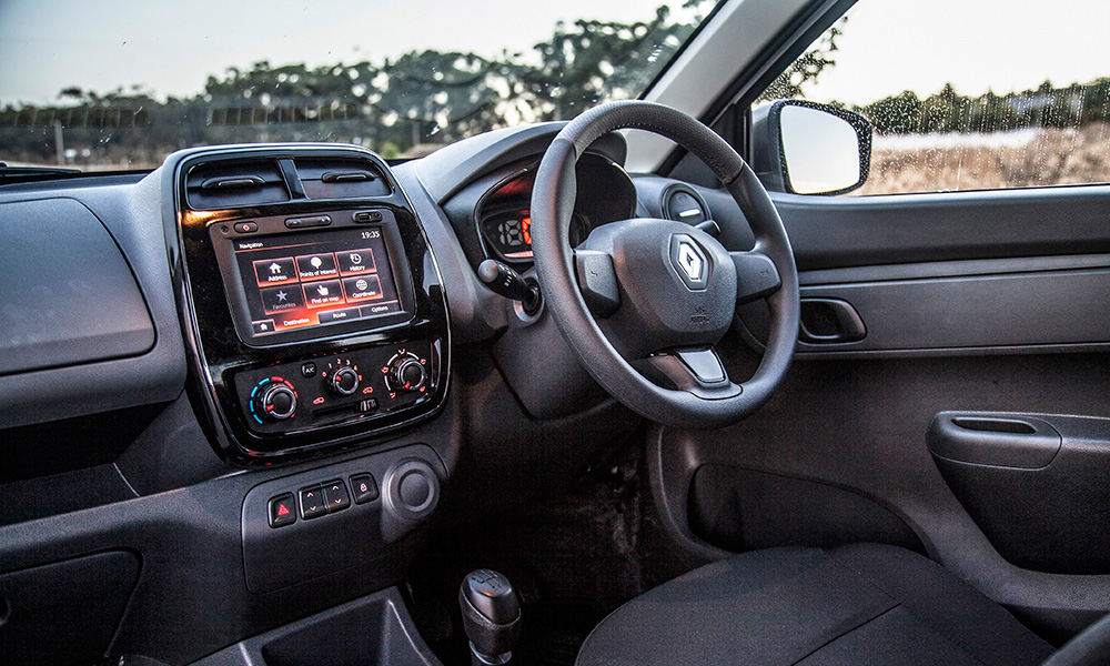 Touchscreen infotainment system is offset by flawed ergonomics.