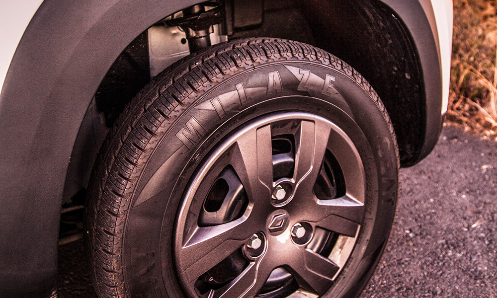Long-travel suspension affords a comfortable ride.