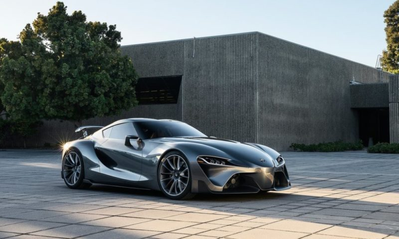 Toyota Supra Concept 2017 >> New Toyota Supra To Be Offered In Automatic Only Car Magazine