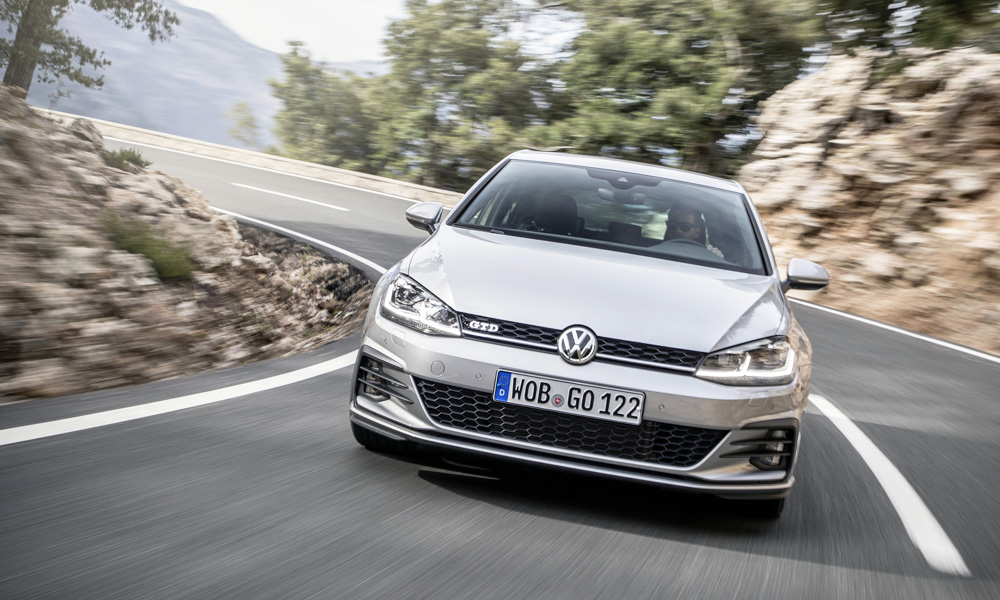 The GTD feels close to the GTI in terms of driving dynamics.
