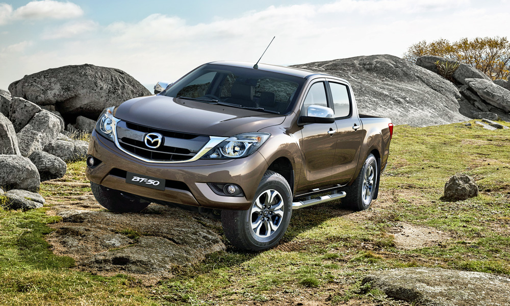 The Mazda BT-50 has had a facelift.