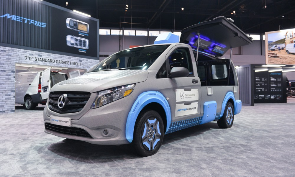 Modded mercedes metris is the ultimate toolbox car magazine for Mercedes benz dealerships in chicago area