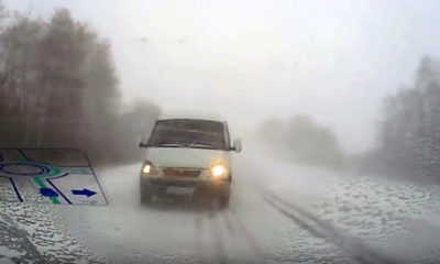 Overtaking in poor visibility