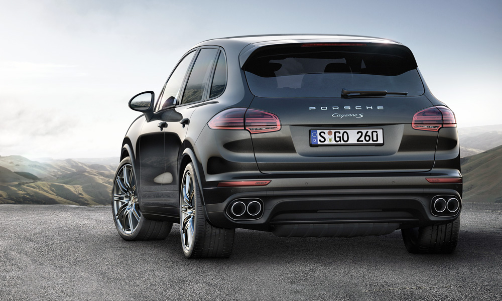 Porsche Prices Platinum Edition Cayenne S Models