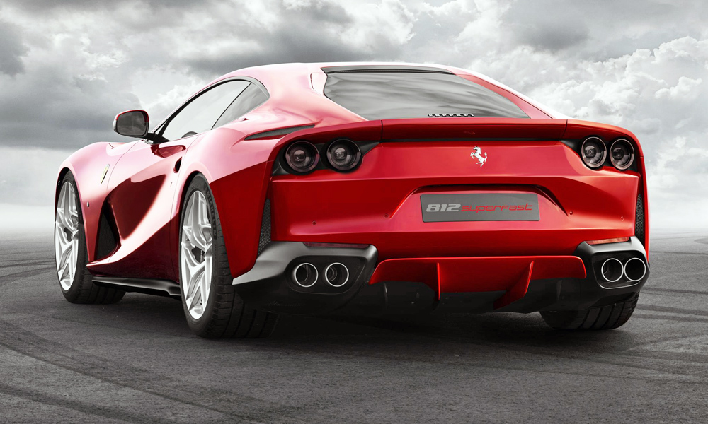 The V12 in the Ferrari 812 Superfast makes a whopping 588 kW.