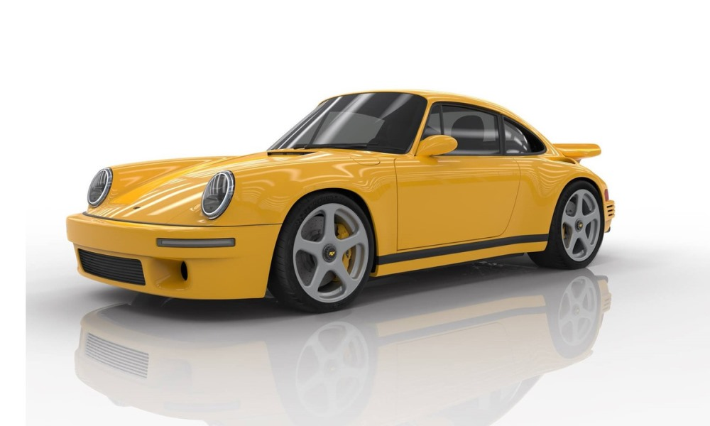 Ruf CTR front