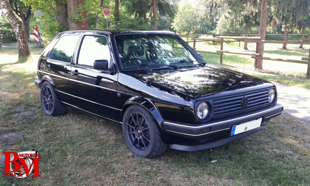 Volkswagen Golf Mk2 4Motion by Boba Motoring
