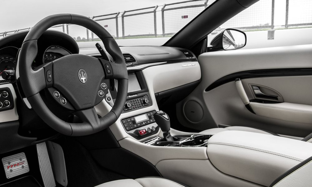 Unique additions to the interior are similarly understated.