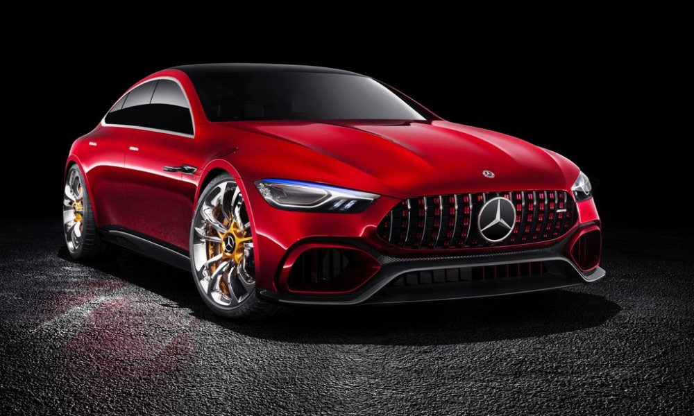 Mercedes-AMG GT Concept front