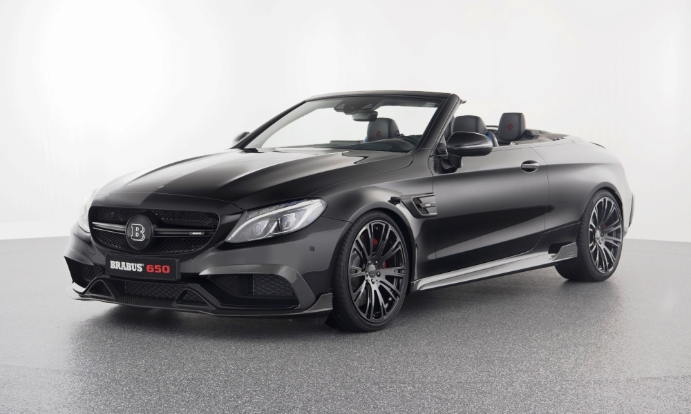 Brabus 650 Cabriolet front