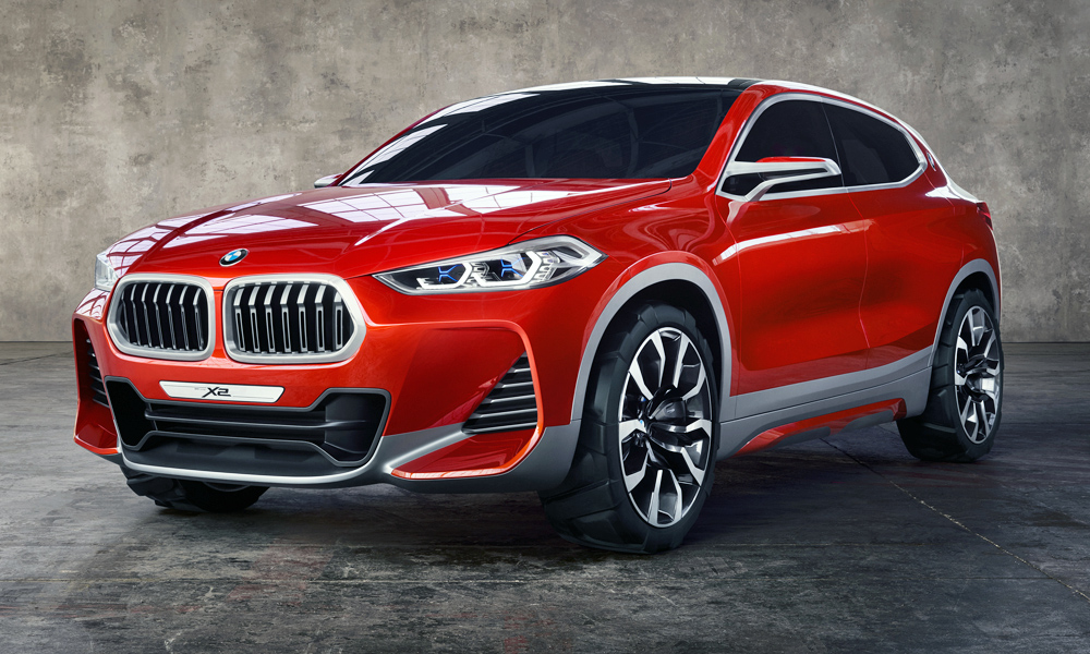 The BMW X2 Concept Unveiled In Paris In 2016 Previews A New Production Model .