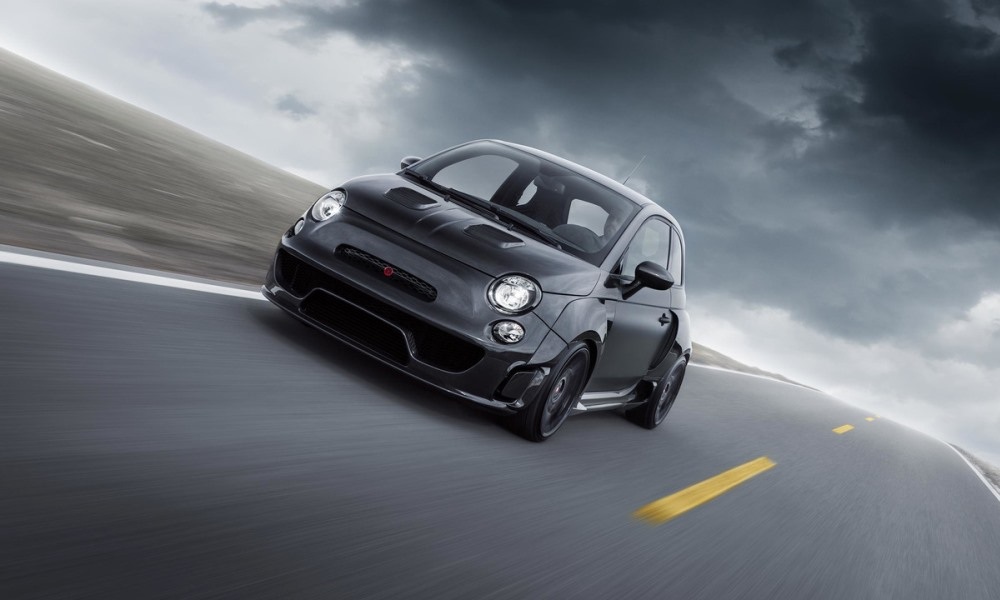 Pogea Racing Abarth 500 front