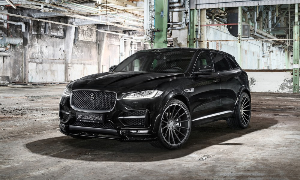 Hamann F-Pace front
