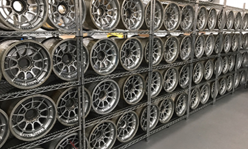 There are 200 wheels in stock to be sold.