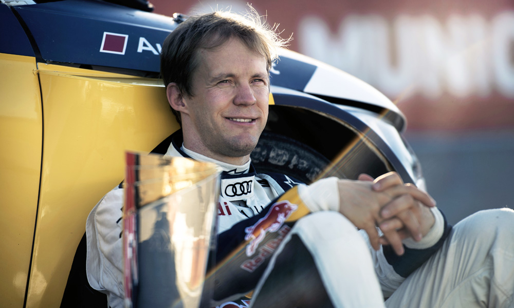 FIA World Rallycross champion, Mattias Ekström