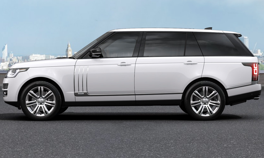 The Long Wheelbase Svautobiography Uses A 5 0 Litre V8 That Has Been Supercharged To Tune Of 405 Kw And 680 N M Although It Can Also Be Had In Tdv8