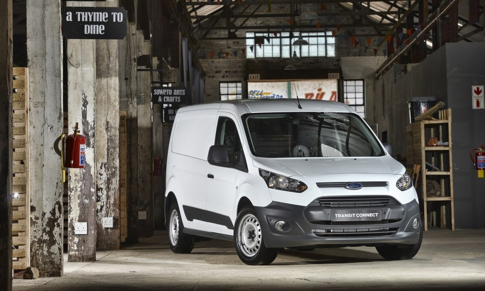 Ford Transit Connect gains 1,5 TDCi front