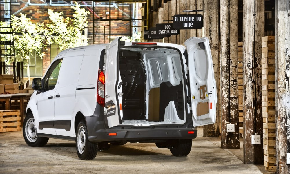 It can be fitted with a load-through hatch and window coupled with a dual passenger seat at no extra cost.