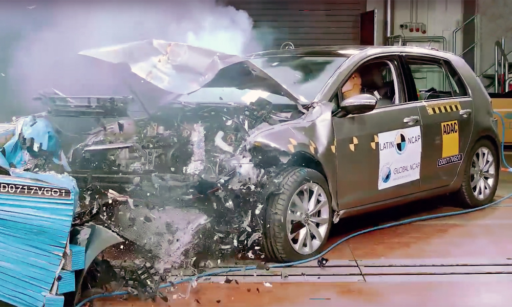 Volkswagen Golf 7 crash test
