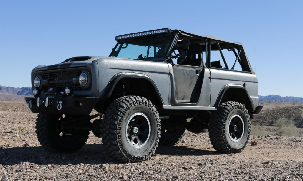 Zero to 60 Designs Ford Bronco front