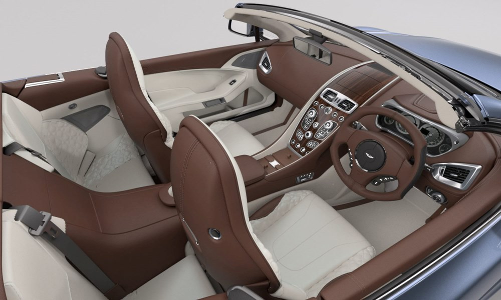 this one off aston martin pays tribute to a boat car magazine. Black Bedroom Furniture Sets. Home Design Ideas