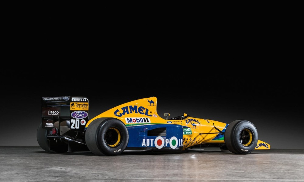 This is not a championship-winning car, but it was an important stepping stone for Schumacher.