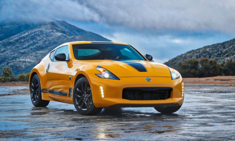 Nissan 370Z Heritage Edition front