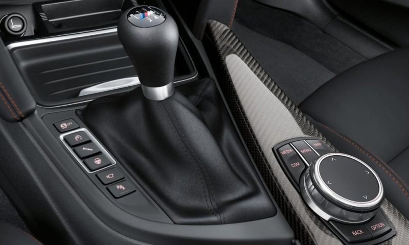 BMW M4 Coupe shifter